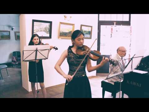 J. S. Bach - Koncert d-moll na dwoje skrzypiec BWV 1043 - Autorska Szkoła Muzyczna Unisono