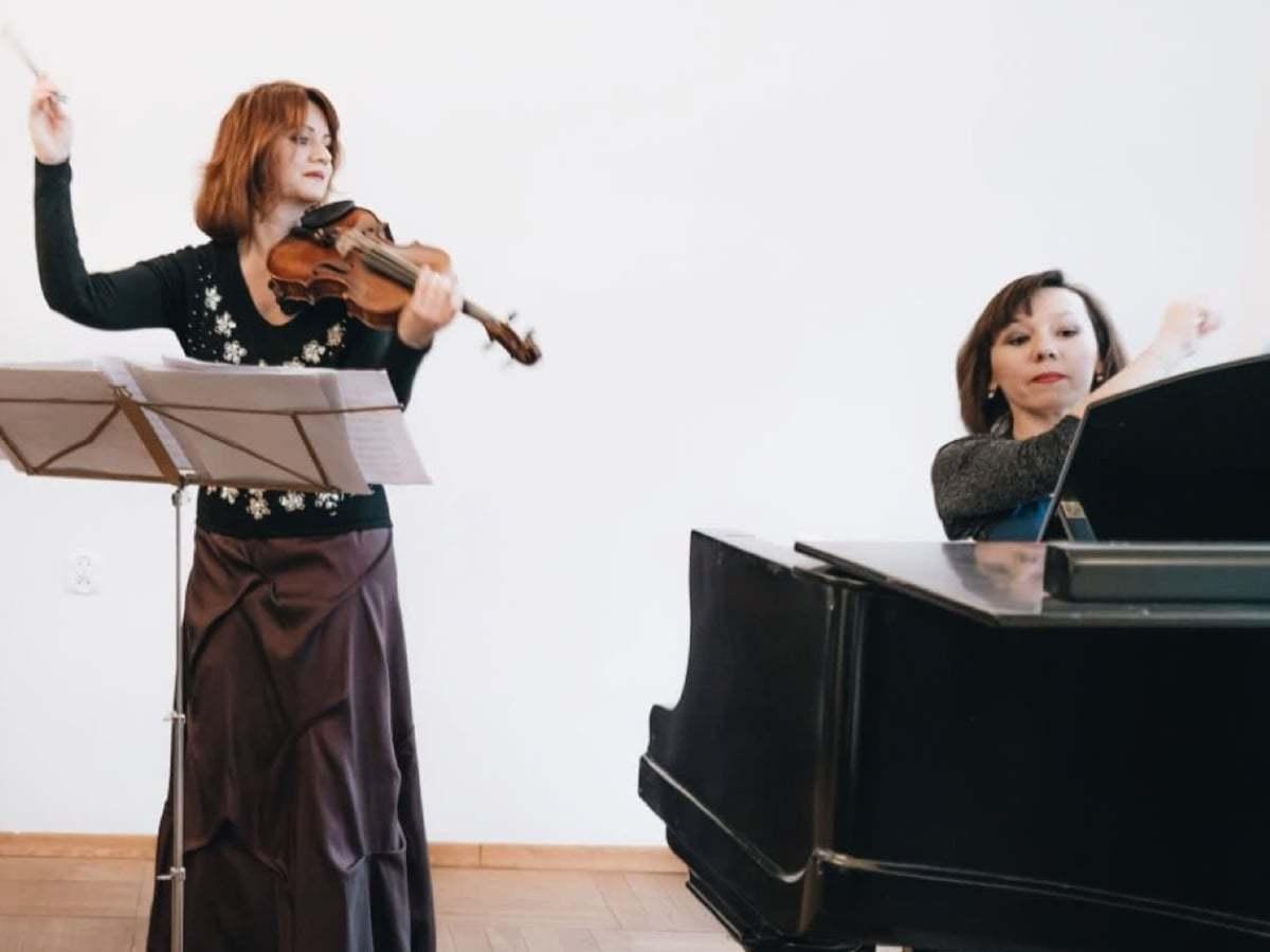 Joanna Okoń i Katarzyna Glensk - Koncert Kryształowe Dźwięki