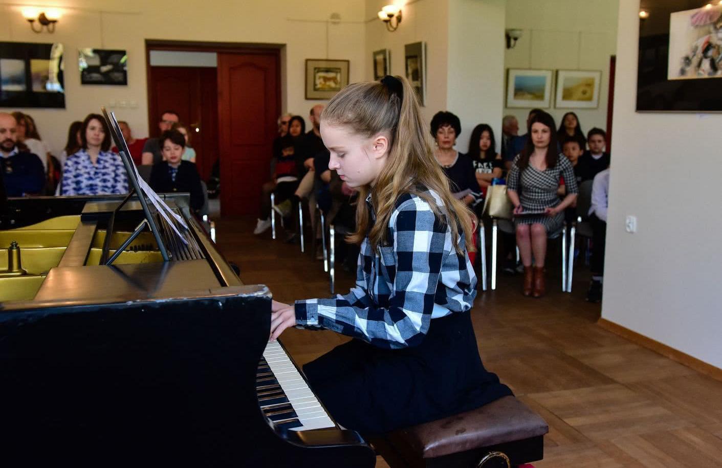 koncert wiosenny uczniow  unisono