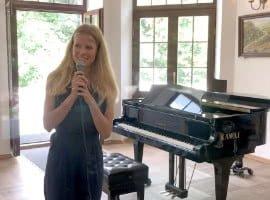 Alicja Zdrojewska, koncert doroczny Unisono, śpiew