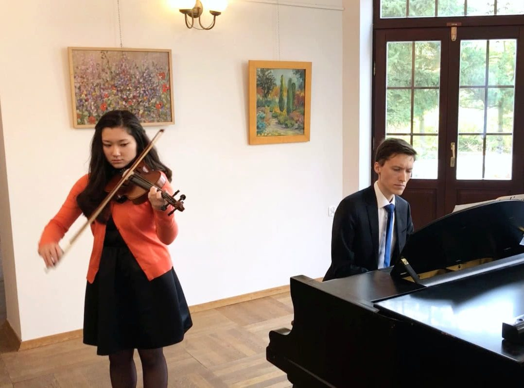szkoła muzyczna, koncert listopadowy, koncert, lekcje skrzypiec