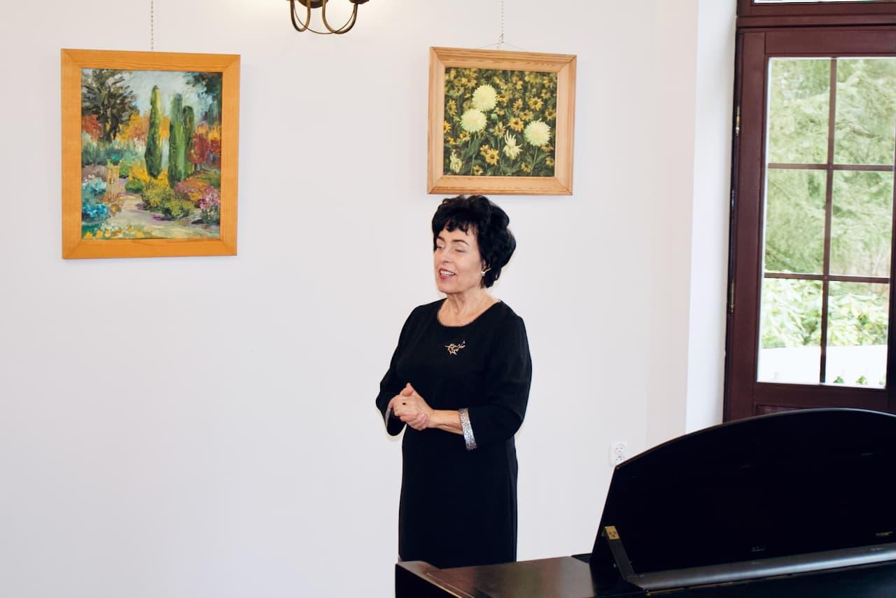 koncert kolędowy szkoły muzycznej z 2020 roku, Zofia Zwolińska Dyrektor Unisono