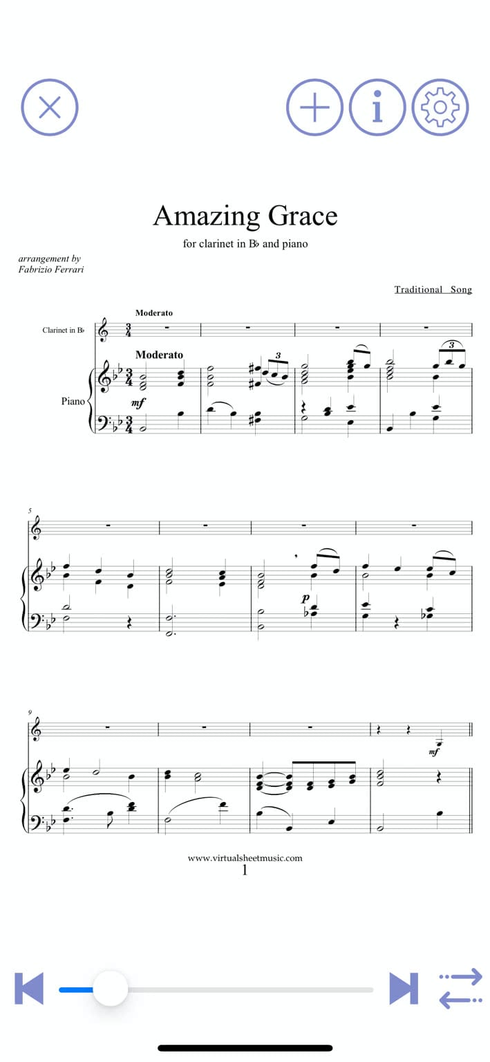 virtual sheet music ios, aplikacje przydatne w nauce muzyki